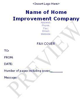 handyman business forms templates